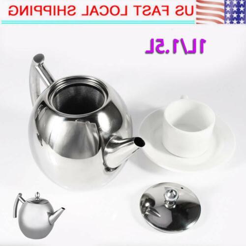 1 1 5l stainless steel tea kettle