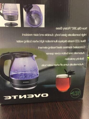 OVENTE Tea Coffee Hot Water Black