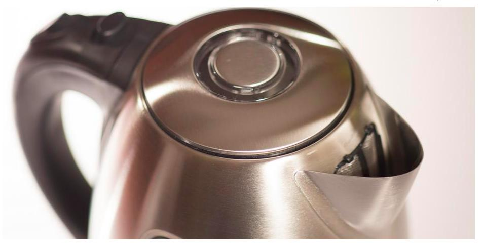 Ovente Steel Cordless Electric Kettle, Tea Hot Water Boiler