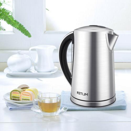 1.7L ELECTRIC TEA Fast Pot Cordless Water Heater