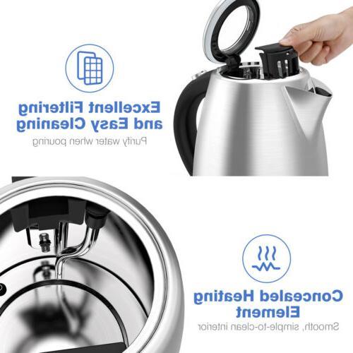 1500W Tea Kettle Stainless LED