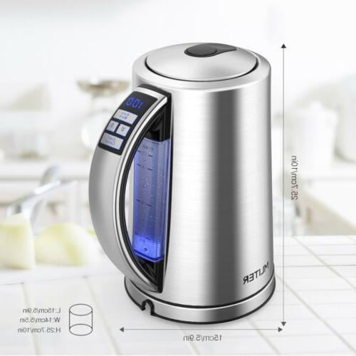 1.7L Electric Kettle Tea Heater Off