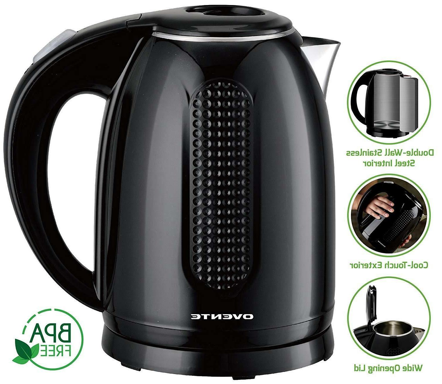 Ovente Kettle Double-Walled Stainless 1.7KD64