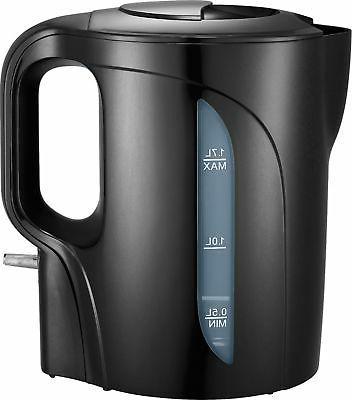 1 7l electric kettle black