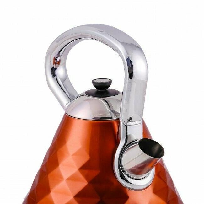 Ovente 1.7L Water Electric Copper