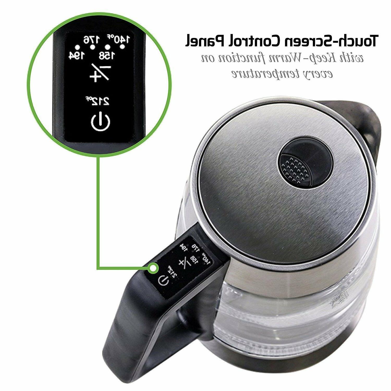 Ovente Tea Kettle Temperature Control BPA Free