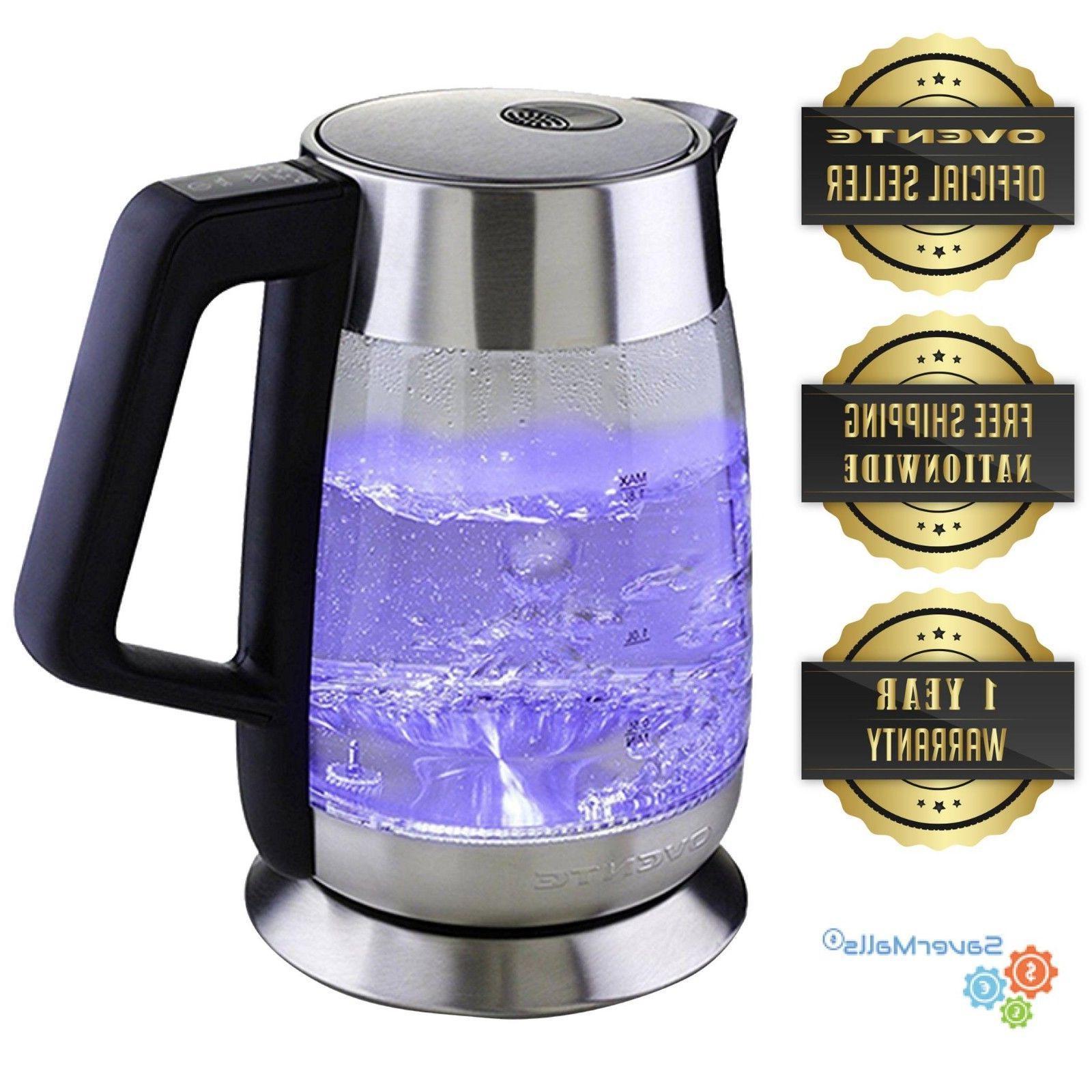1 8l electric glass tea kettle temperature
