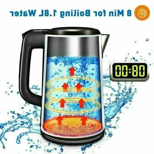 1.8L Electric Boiling Shut LED