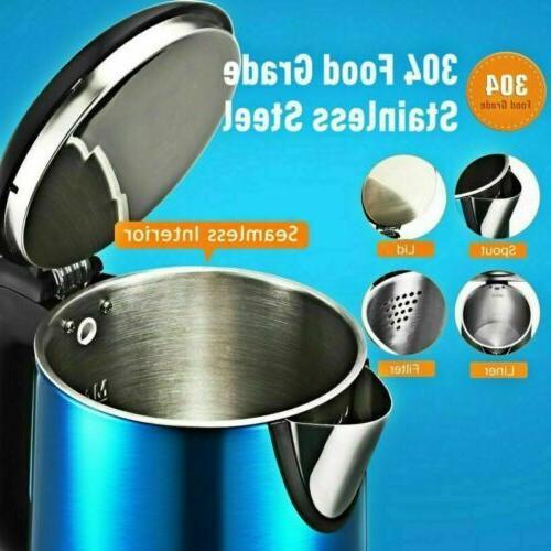 1.8L Electric Kettle Fast Boiling Shut LED