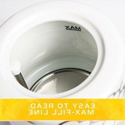 BELLA Electric Ceramic Kettle Detachable Silver
