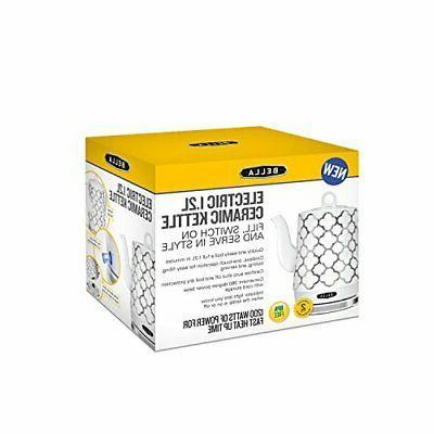 BELLA Ceramic Tea Detachable Base Silver