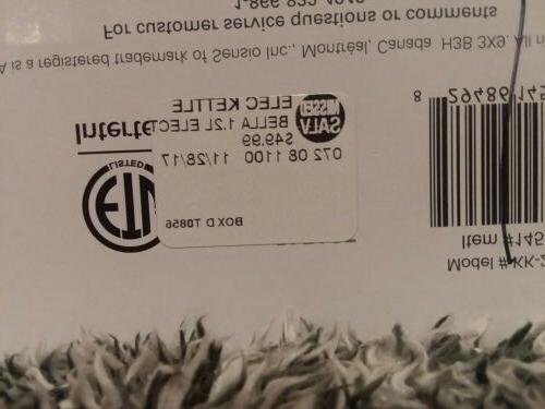 BELLA 14537 Tea Silver 7.5