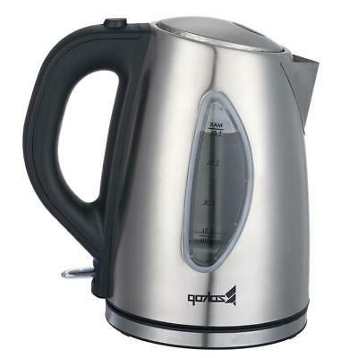 1500W Electric Tea Coffee Fast Boil Stainless 1.8L