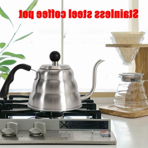 1L Coffee Espresso Latte 304 Stainless Kettle
