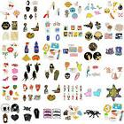 1set enamel piercing brooch pins shirt collar