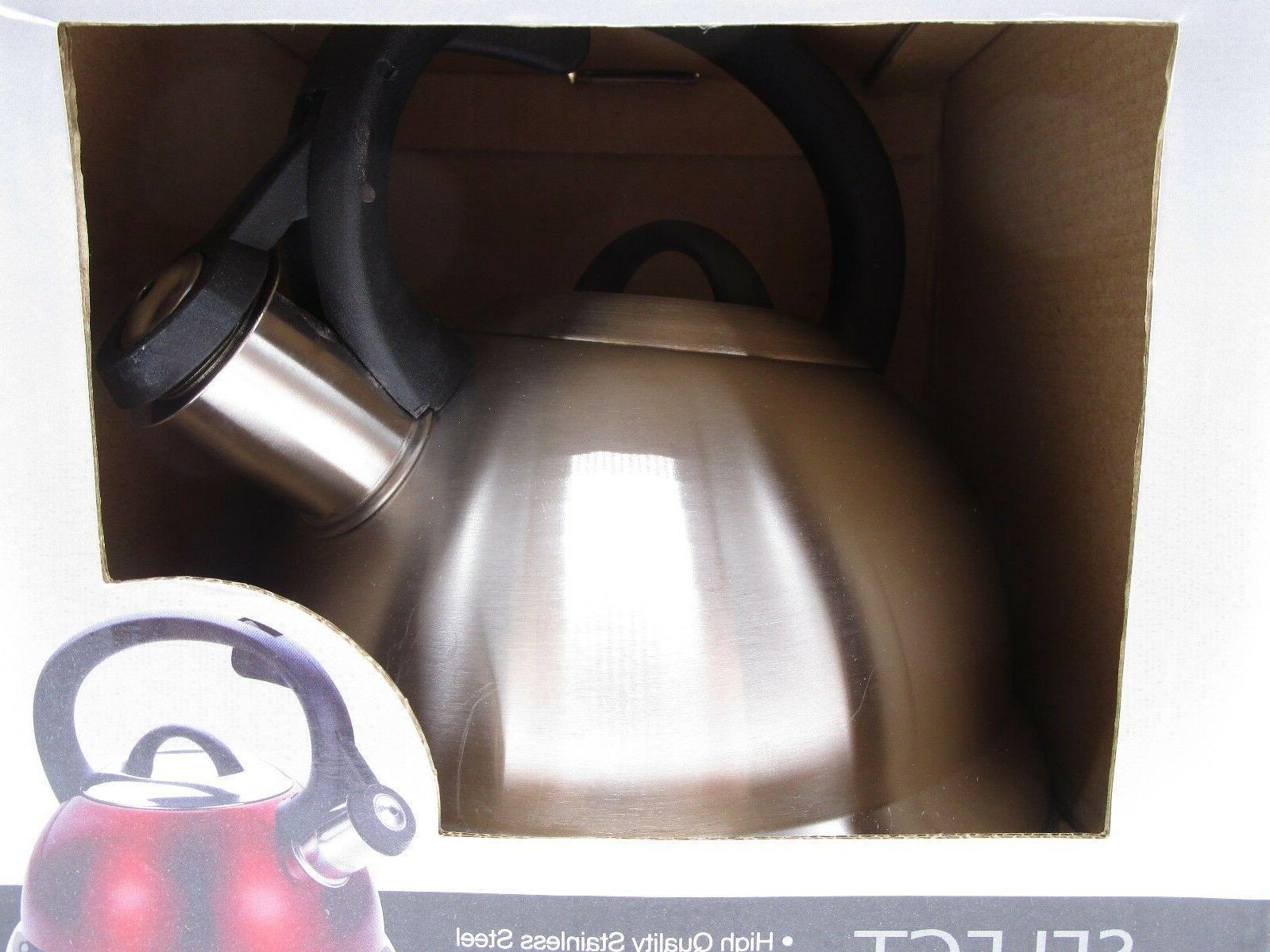 Kitchenworks 2.5 Qt Tea Steel New