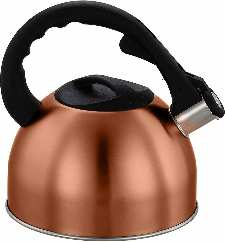 2 5l qt stainless steel tea kettle