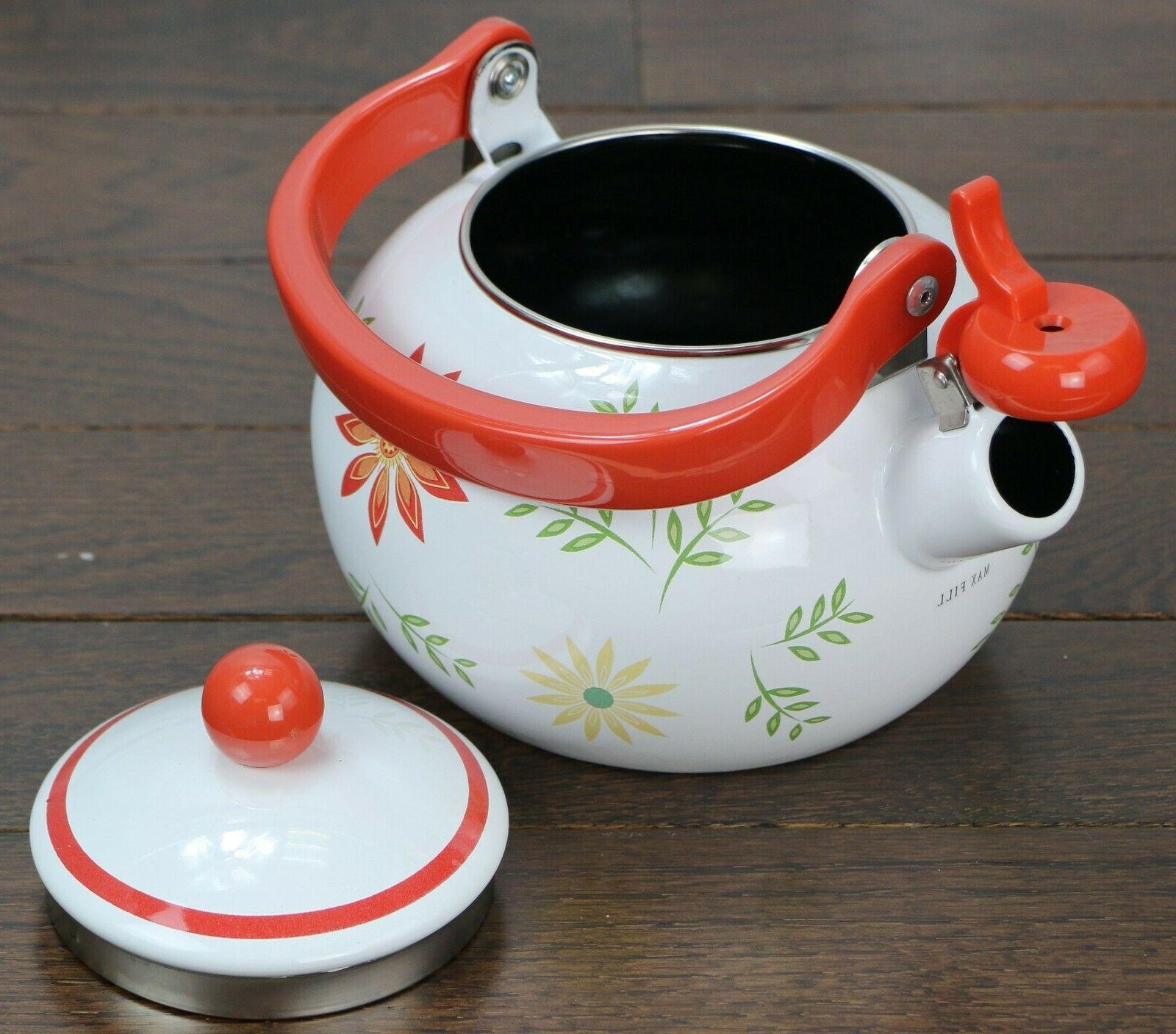 CORELLE TEA KETTLE STOVETOP Safe Your Pattern