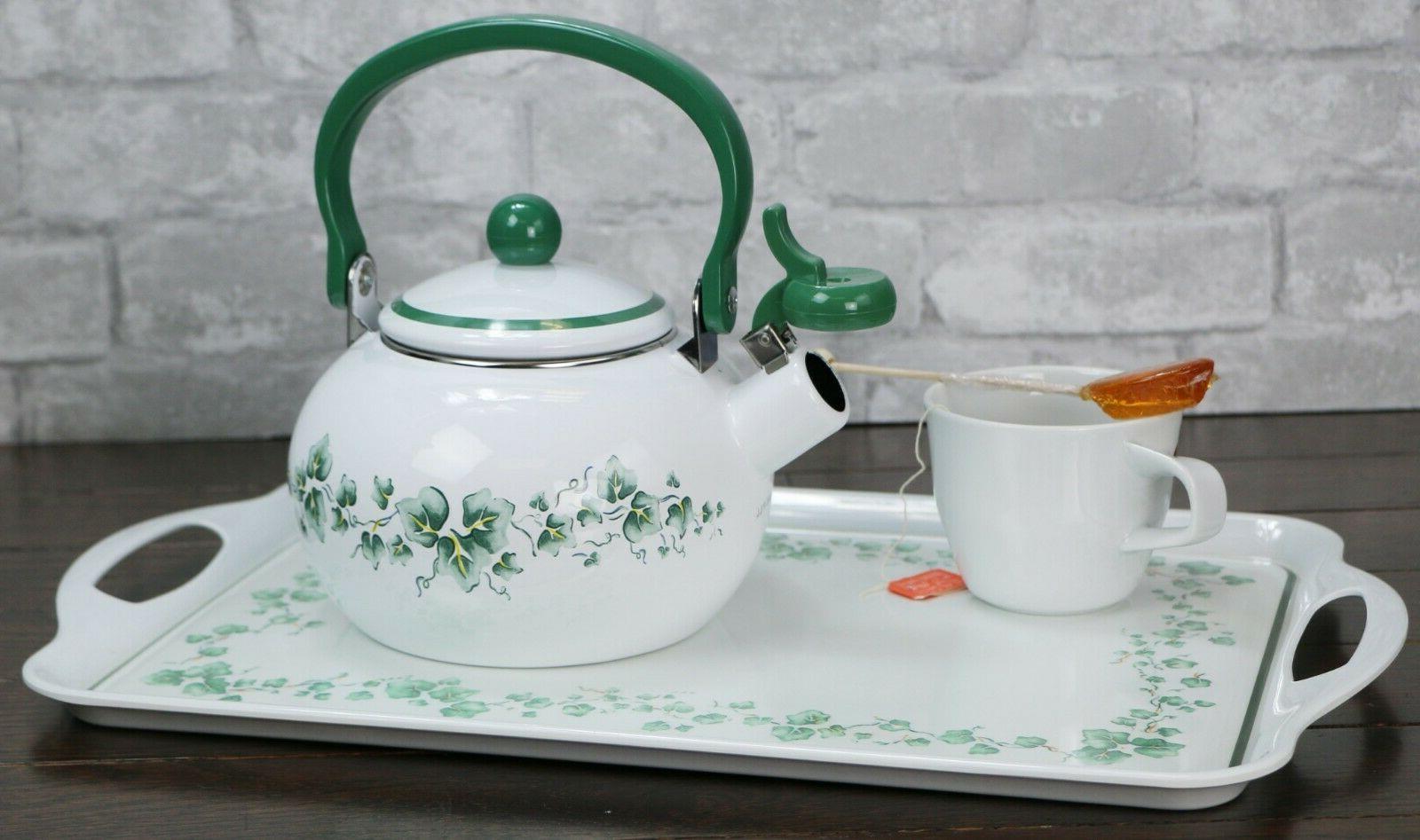 CORELLE TEA KETTLE Safe *Choose NEW