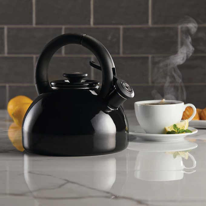 Circulon 2-quart Morning Brew Tea Kettle Gift Modern Kitchen