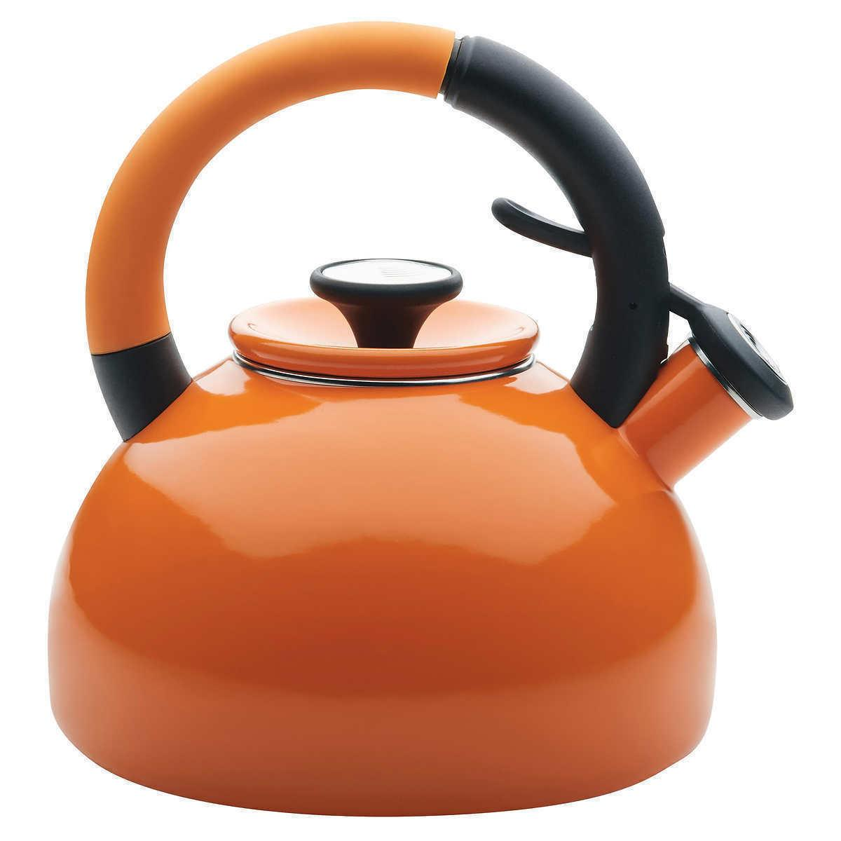 Tea Induction Circulon 2-quart Brew Ready Whistling Teapot