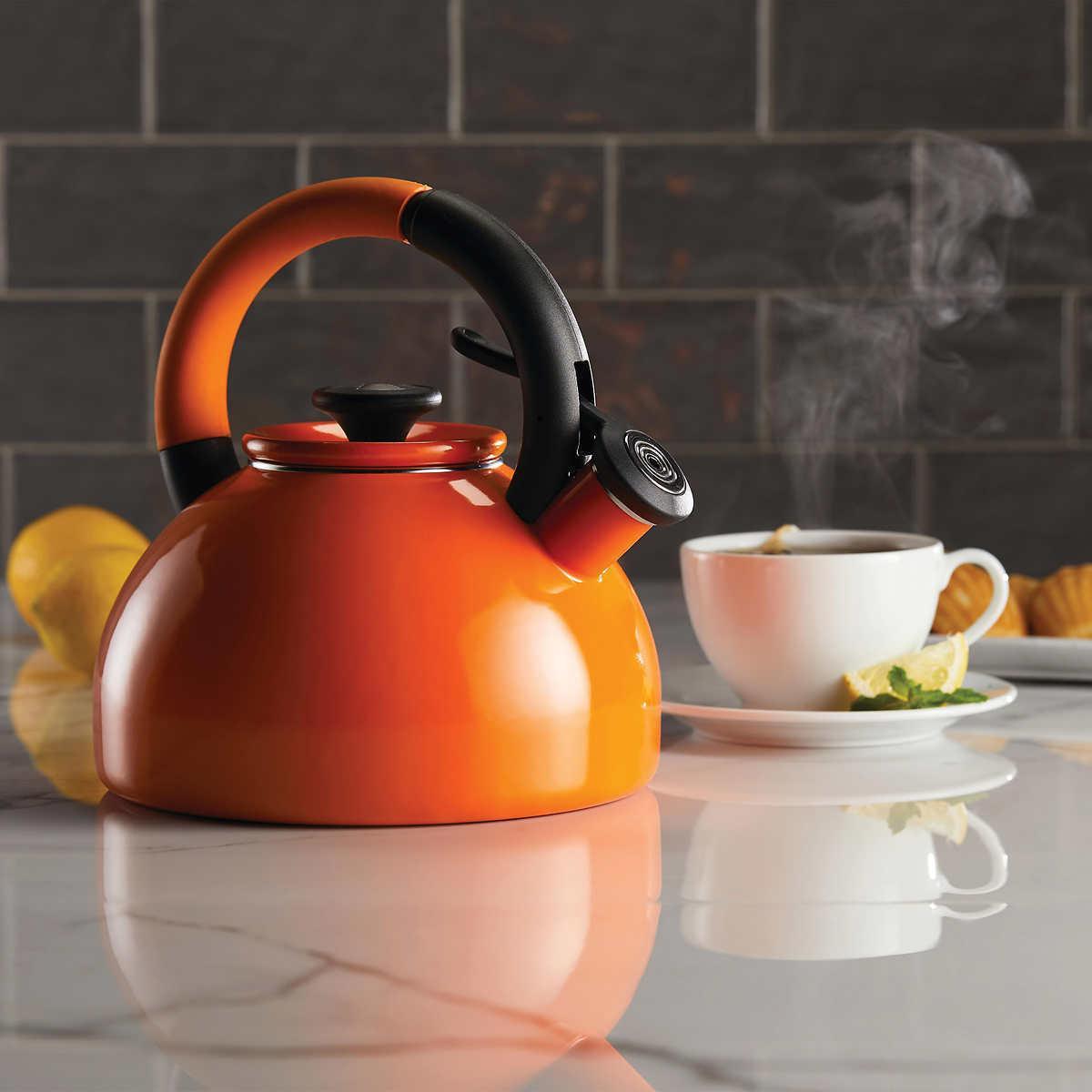 Tea Induction 2-quart Brew Whistling