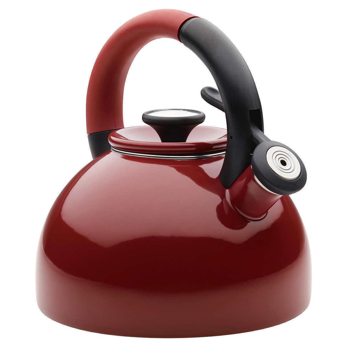 Tea Kettle 2-quart Morning Whistling Teapot