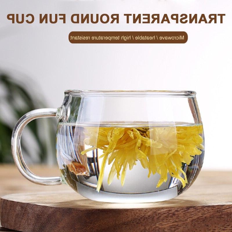 Glass 350ml <font><b>Kettle</b></font> Teacup Fruit Juice <f