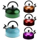 3L Stainless Steel Whistling Tea Kettle for Boat Camping Kit
