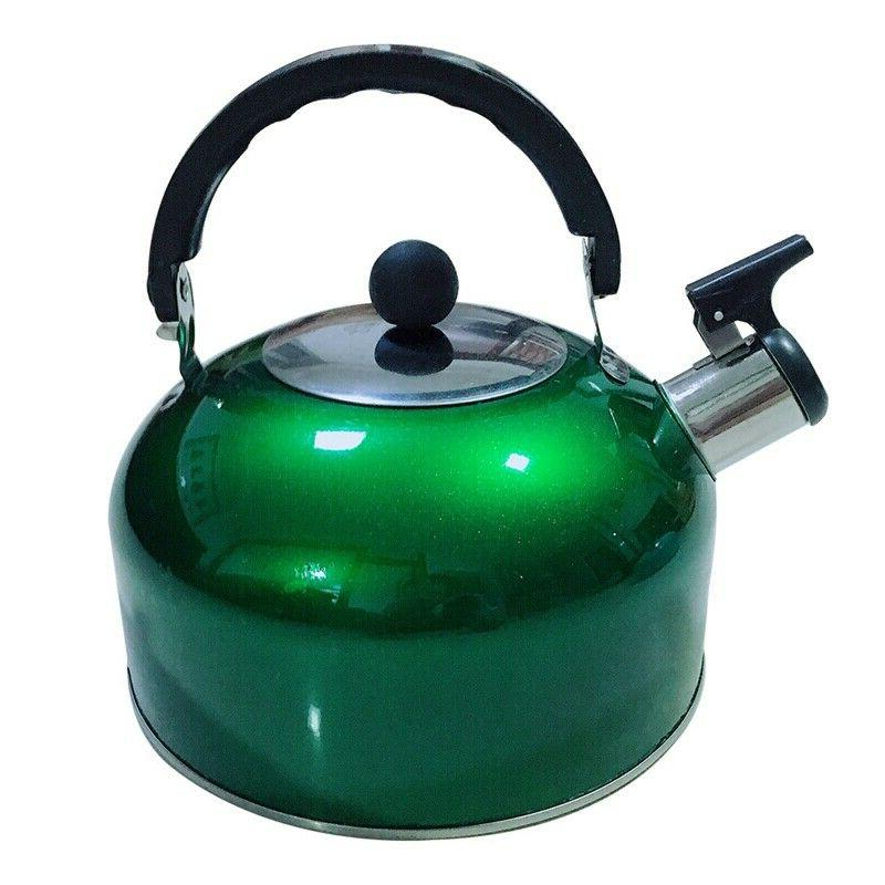 3L Tea Stainless Top Teapot Round