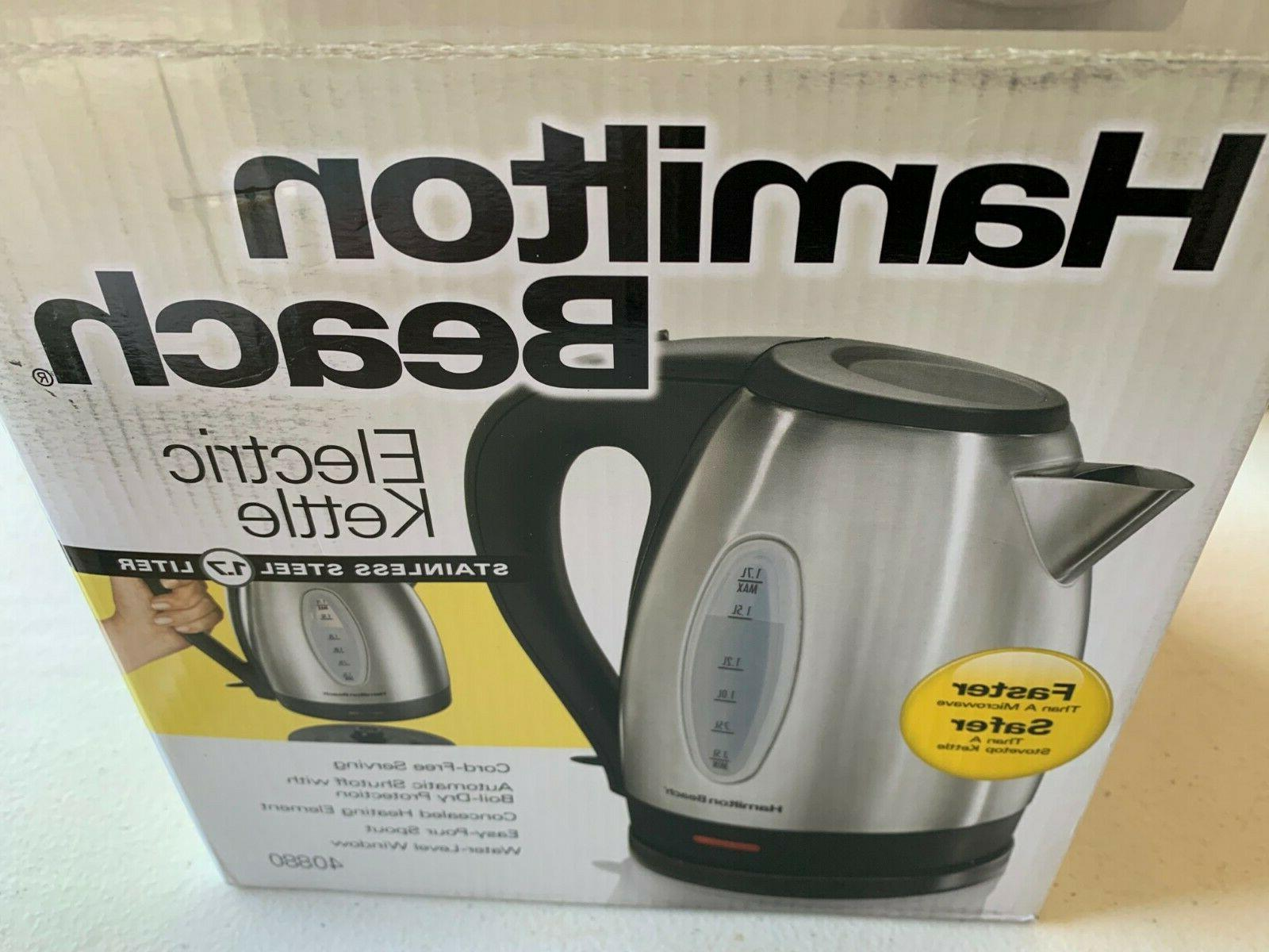 40880 stainless steel electric kettle 1 7