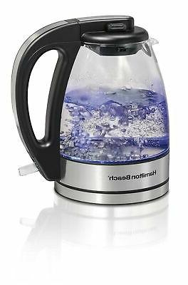40930 compact glass kettle