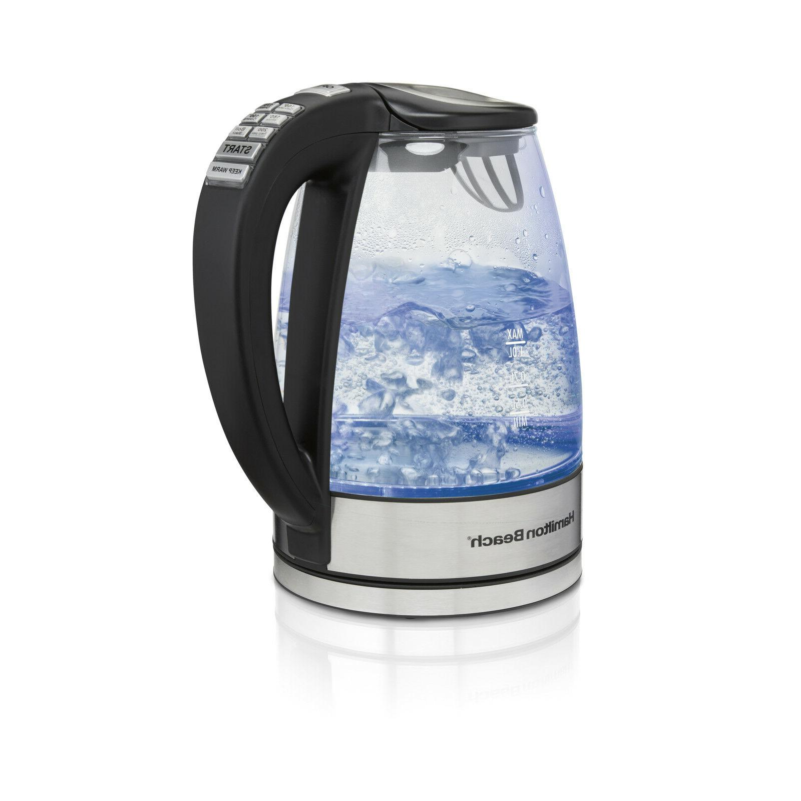 40941 glass electric kettle