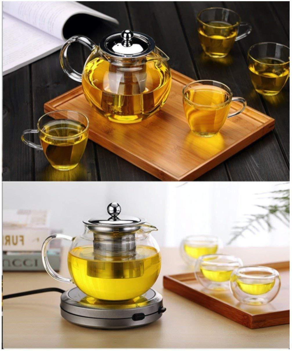 45 Oz Teapot Set Stylish Kettle For