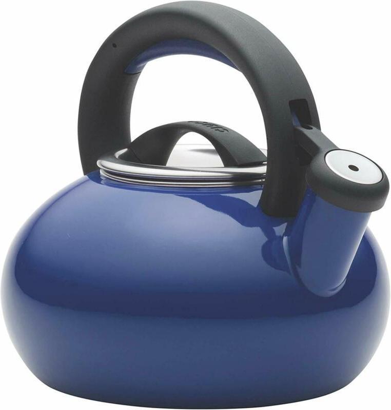 Circulon 51392 Whistling Kettle/Stovetop Teakettle/Tea Pot, 1.5 Quart, N
