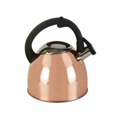 Copco 5226114 Classic Whistle Tea Kettle, Stainless Steel, C