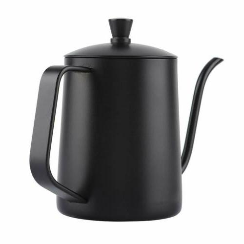 550ML Stainless Drip Kettle Black