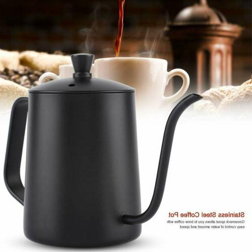 550ML Stainless Steel Spout Coffee Pot Coffee/Tea Drip