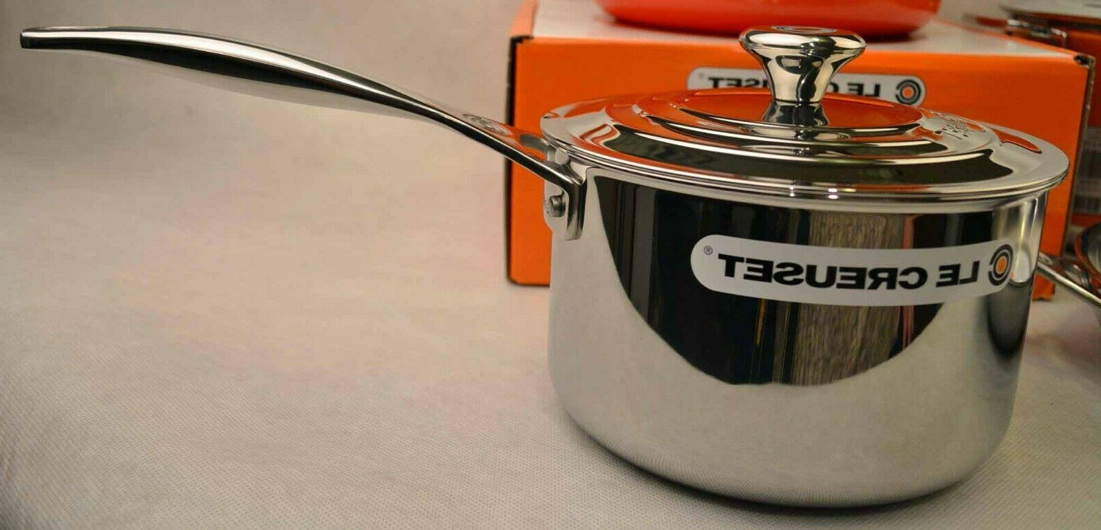 Le Steel Iron Cookware Set, Flame
