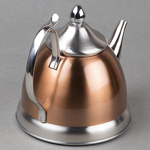 Creative 77075 Qt. Stainless Copper Removable