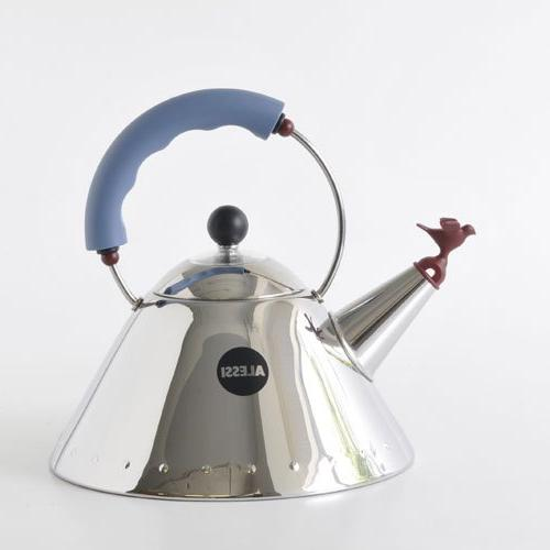 Alessi Michael Kettle with Whistle, Handle
