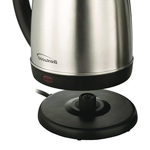 Brentwood Steel Cordless Electric
