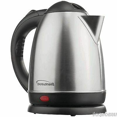 Brentwood KT-1780 1.5L Stainless Steel Cordless Electric Ket