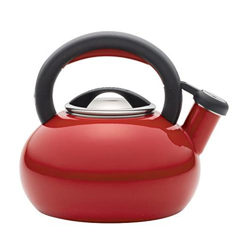 Circulon 1-12-Quart Sunrise Teakettle, Circulon Red