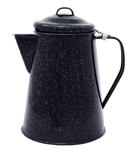 Granite Ware – Coffee, Tea, Water Boiler – For Camping,
