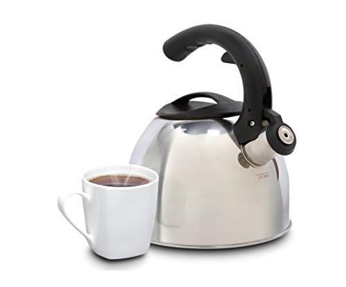 Mr Coffee 72788.02 2 Quart Whistling Black