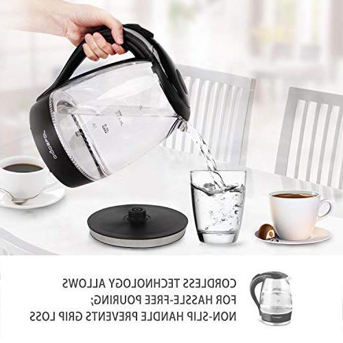 Aigostar Adam Water 1.7L Kitchen Pot Tea Coffee with Led