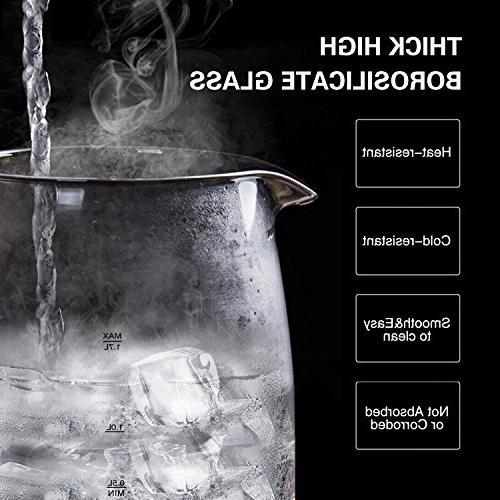 Aigostar Adam Electric Water Kitchen Tea Led