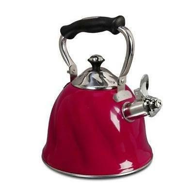 Gibson Alderton Cookware - 2.3 Quart Kettle - Cooking - Red