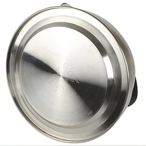 Alexa 3.0 qt. Stainless Steel in Metallic Chartreuse